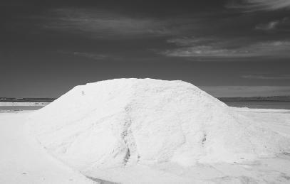 SALT, LIKE THE MOUND SHOWN HERE, IS A SAFE AND COMMON SUBSTANCE THAT ...