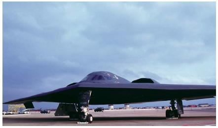 The B-2 Stealth Bomber. (Reproduced by permission of Photo Researchers, Inc.)