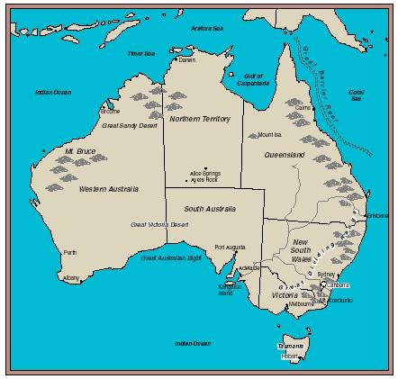 Australia. (Reproduced by permission of The Gale Group.)