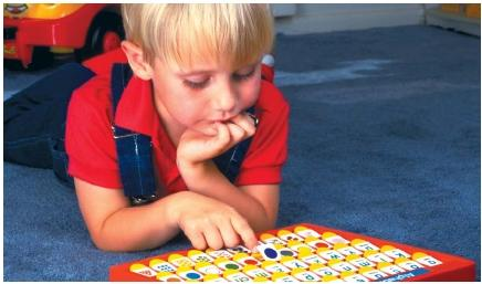 A test of a child's cognition is his or her ability to remember the rules to certain games, and to be able to come up with strategies for winning. (Reproduced by permission of The Stock Market.)