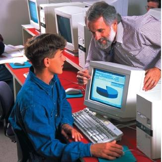 The use of many varied forms of computer software makes the computer
