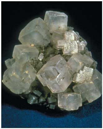 Sodium chloride (salt) crystals. (Reproduced by permission of JLM Visuals.)