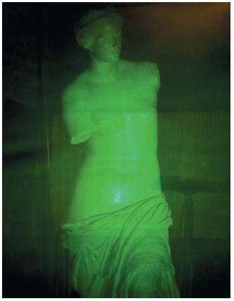 A hologram of the Venus de Milo. (Reproduced by permission of Photo Researchers, Inc.)