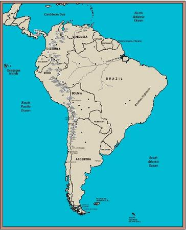 South America. (Reproduced by permission of The Gale Group.)