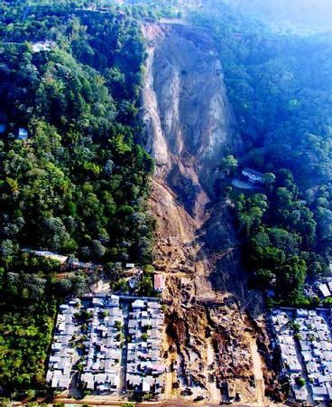 Landslide And Other Gravity Movements The Shape Of The Land