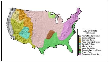 The Landforms Of North America Lessons Tes Teach - Landforms of the united states