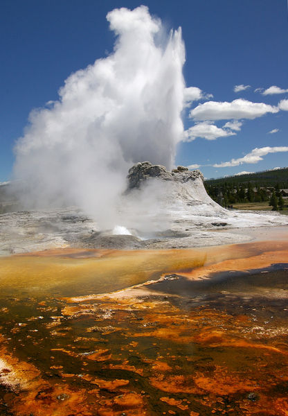 Geyser And Hot Spring The Shape Of The Land Forces And Changes Spotlight On Famous Forms For More Information